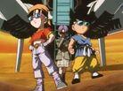 Pan Goku i Trunks na Rudeze (DBGT, odc. 015)