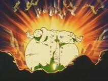 Yakon wybucha od nadmiaru skonsumowanej ki (DBZ, odc. 223)