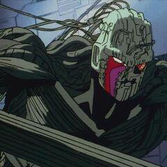 Cyborg olbrzym kontra Gokū (2)