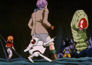 Goku i spółka na planecie Beehay (DBGT, odc. 010)