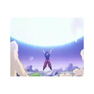 Genki-Dama podczas walki z <a href=