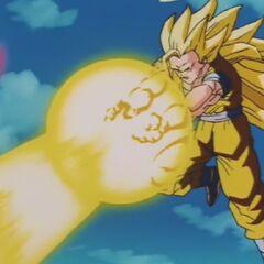 Wystrzelenie żółtej Kikōhy