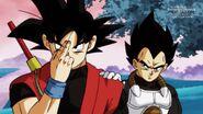 Son Goku; Xeno i Vegeta; Xeno (2) (SDBH, odc. 007)