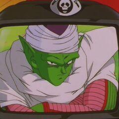 Przebywający w Niebie Piccolo w telewizorze Enmy Daiō