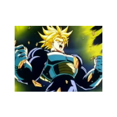 Trunks Ultra Super Saiyanin