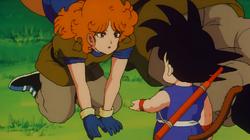 Goku oddaje monetę