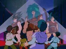 Tsufulianie walczący z Saiyanami (2)