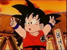 Mały Goku na TB22