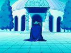 Poprzedni bóg Ziemi odrzuca Mega Piccolo (3) (DB, odc. 125)
