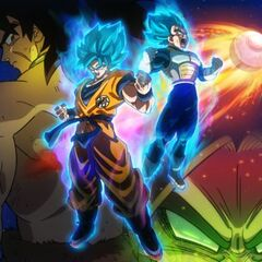 Dragon Ball Super: Brolly  (tapeta)