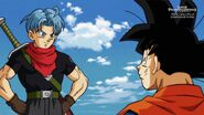 Trunks i Goku (SDBH, odc. 002)