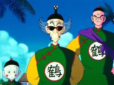 Tsuru Sennin i jego uczniowie