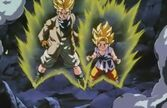Goku i Trunks ssj (DBGT, odc. 013)