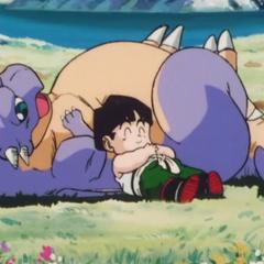 Gohan śpi z <a href=