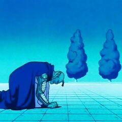 Poprzedni bóg odrzuca Piccolo z powodu tkwiącego weń zła (5)