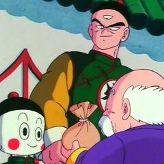 Tien i Jiǎozi odbierają zapłatę za pokonanie Ino Shika Chō