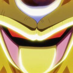 Zbliżenie na twarz Złotego Coolera
