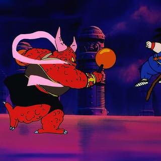 Goku walczy z Ghastelem