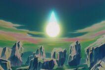 Gokū wchłania Genki-Damę (4) (DBZ, film 7)