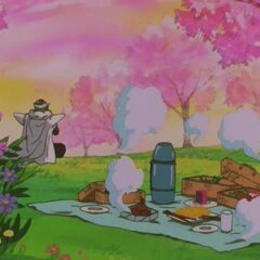 Piccolo w towarzystwie piknikujących dusz