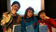 Ryōtarō Okiayu, Masako Nozawa i Mayumi Tanaka (March 2013)