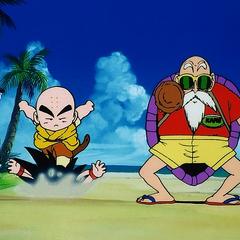 Chamskie zagrania Kuririna. (Podkłada Sonowi nogę)