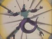 Ghost Cooler rozmiażdżany Kikohą Goku