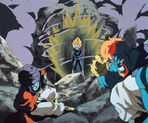 Vegeta staje do walki z Bidem i Būjinem (dziewiąty film kinowy DBZ)