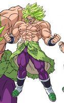 Brolly Legendarny Super Saiyanin (DBS, film 1, grafika koncepcyjna)