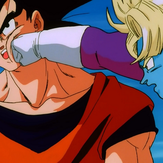 Thouser atakuję Gokū, kiedy ten rozmawia z Coolerem