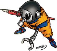 Komiksowy autoportret Toriyamy (4)