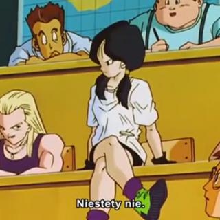 Erasa w klasie z kolegami