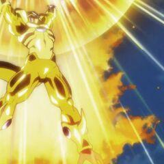 Tworzy Złotą Supernovę