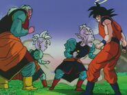 Ro Kaioshin (14) Wyjaśnia Goku, że jego zdolność nie jest powszechna