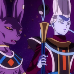 Beerus i Whis w filmie <i><a href=