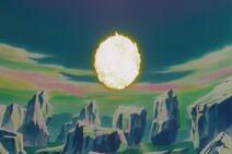 Gokū wchłania Genki-Damę (5) (DBZ, film 7)
