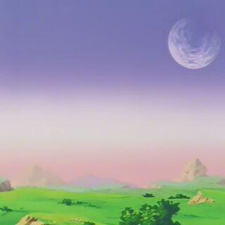 Różowawy horyzont