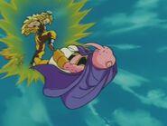 Goku SSJ3 kontra Majin Bu (2)