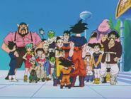 Przyjaciele po powrocie ze Świata Kaiōshinów