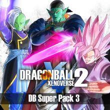 Dragon Ball Xenoverse 2, DB Super Pack 3 (logo)