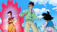 Chichi grozi Gohanowi, który wymiguje się od treningu (DBS, odcinek 075)