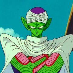 Młody Piccolo na swoim pierwszym <a href=