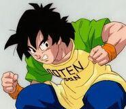 Son Goten na treningu z Goku