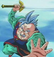 Północny Kaioshin (5) Atakuje Majin Bu