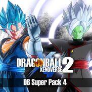Dragon Ball Xenoverse 2, DB Super Pack 4 (logo)