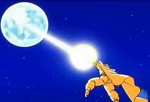 Piccolo niszczy księżyc