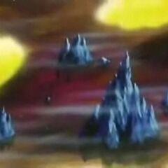 Krajobraz Piekła, kolejnego elementu Świata Niebiańskiego