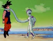 Frieza Duszący Goku