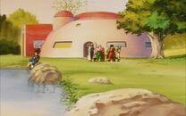 Bohaterowie zgromadzeni w Górach Paozu - śmierć Goku