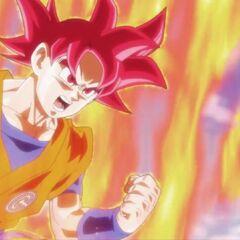 Super Saiyanin God